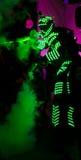 Uomo verde chiaro Fotografia Stock Libera da Diritti