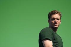 Uomo verde selvaggio Fotografie Stock