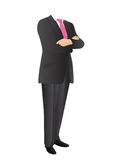 Uomo in vestito Fotografia Stock Libera da Diritti