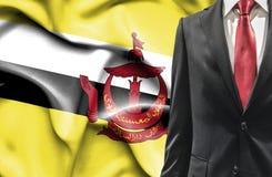 Uomo in vestito dal Brunei fotografia stock
