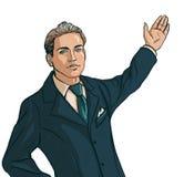Uomo in vestito di affari Illustrazione Vettoriale