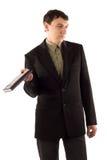 Uomo in vestito nero immagini stock libere da diritti
