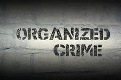 Uorganizowany przestępstwo gr zdjęcie royalty free