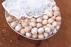 Uova bollite salate Fotografia Stock