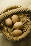 Uova in cestino Immagine Stock Libera da Diritti