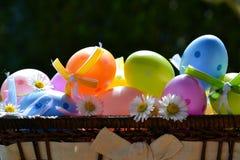 Uova colorate Fotografie Stock Libere da Diritti