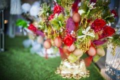 Uova decorate Fotografia Stock