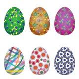 Uova del colorfull di Pasqua Immagini Stock