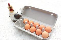 Uova del pollo Immagine Stock Libera da Diritti
