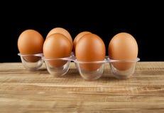 Uova del pollo fotografie stock