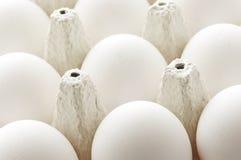 Uova del pollo in casella Immagine Stock Libera da Diritti