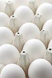 Uova del pollo in casella Fotografia Stock Libera da Diritti