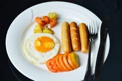 Uova della prima colazione Fotografie Stock Libere da Diritti