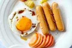 Uova della prima colazione Immagine Stock Libera da Diritti