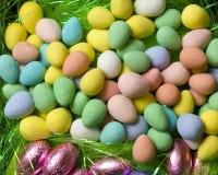 Uova di Candy Immagine Stock