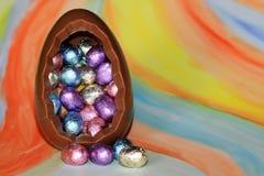 Uova di cioccolato Fotografia Stock Libera da Diritti