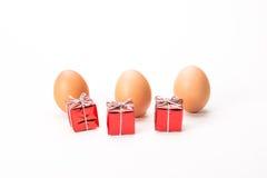 Uova di Natale Fotografie Stock