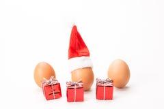 Uova di Natale Fotografie Stock Libere da Diritti