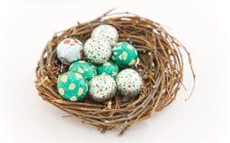 Uova di Pasqua. Fotografia Stock Libera da Diritti