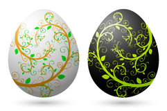 Uova di Pasqua 2 Immagine Stock