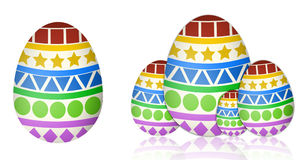 Uova di Pasqua Fotografia Stock