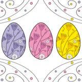 Uova di Pasqua illustrazione vettoriale