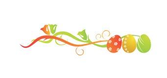 Uova di Pasqua, Bandiera Fotografia Stock