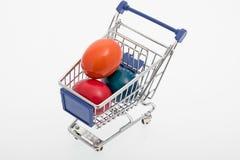 Uova di Pasqua Colorate immagine stock libera da diritti