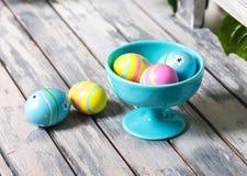 Uova di Pasqua colorate Immagine Stock