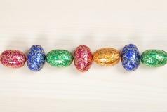 Uova di Pasqua Colourful Fotografie Stock