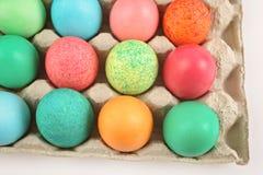 Uova di Pasqua Colourful Immagine Stock