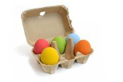 Uova di Pasqua Colourful Immagini Stock Libere da Diritti