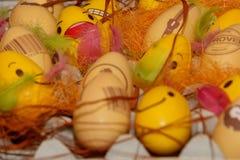 Uova di Pasqua Colourful Fotografie Stock Libere da Diritti