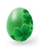 Uova di Pasqua Con gli elementi della decorazione Fotografia Stock