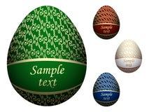 Uova di Pasqua Decorate illustrazione di stock
