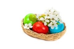 Uova di Pasqua decorative Fotografia Stock