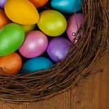 Uova di Pasqua decorative Fotografie Stock