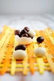 Uova di Pasqua del cioccolato Immagini Stock