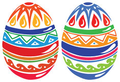 Uova di Pasqua di colore illustrazione vettoriale