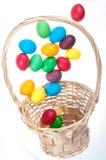 Uova di Pasqua Di volo Fotografie Stock