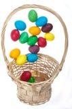 Uova di Pasqua Di volo Immagini Stock