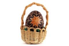 Uova di Pasqua dipinte a mano Fotografia Stock