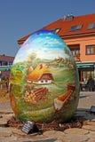 Uova di Pasqua, Koprivnica Fotografia Stock