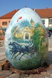 Uova di Pasqua, Koprivnica Fotografia Stock Libera da Diritti