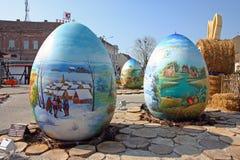 Uova di Pasqua, Koprivnica Fotografie Stock Libere da Diritti