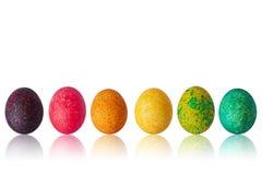 Uova di Pasqua multicolori Immagine Stock