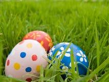 Uova di Pasqua nascoste Immagini Stock