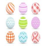 Uova di Pasqua, Pasqua felice Immagini Stock