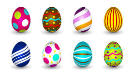 Uova di Pasqua - Pasqua felice Immagine Stock