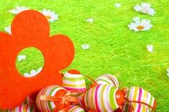 Uova di Pasqua Pastelli e colorate Immagine Stock Libera da Diritti